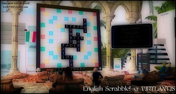 English Scrabble! @ VIRTLANTIS (Edunation) - 04 March 2013