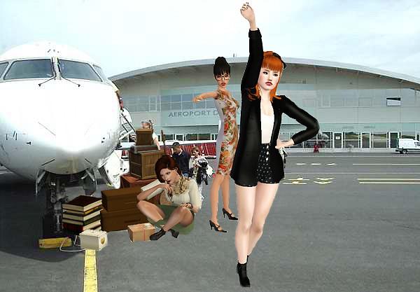 Nous allons rater l'avion ...
