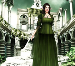Cersei Gown-Green