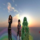 Silvia e Mitla sulla cascata di Aquarius, Magnolia Glen (38, 133, 65) - Mature