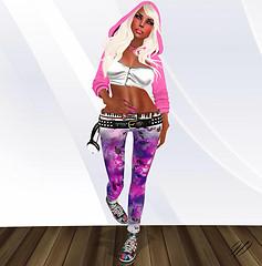 Batik  PurpleNight Jeans