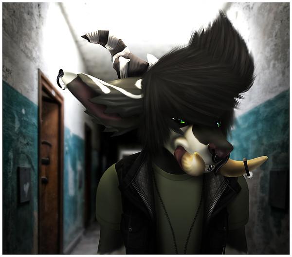 My furry me