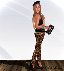 Chic / Wild Pants Giraffe / Anela Natural