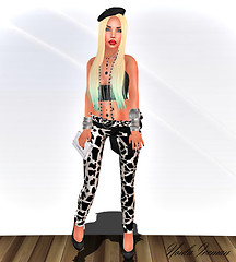 Chic / Wild Pants Cow / Anela Red
