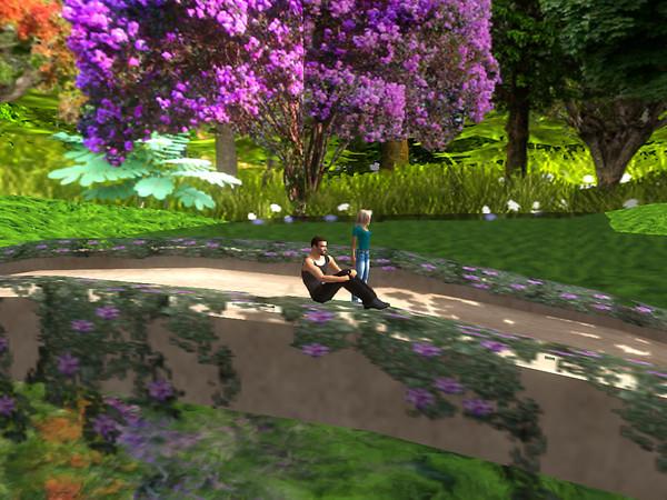 Relaxing in new flowers, Devis Garden (8)