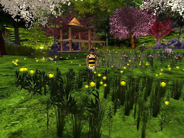 Relaxing in new flowers, Devis Garden (4)
