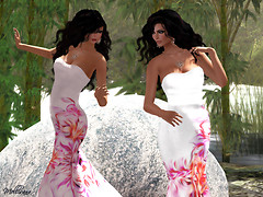 Kathie &amp; Melli in Indyra gown_005 shadow