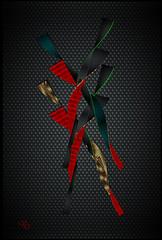 IKKYO URA frame tableau serie Karbone