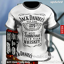 Jack Daniel's T-Shirt White - POP Slide