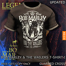 Bob Marley & the Wailers T-Shirt I (V3/MESH) - POP Slide