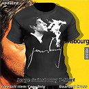 Serge Gainsbourg T-Shirt (V3/MESH) - POP Slide