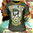 Bob Marley &amp; the Wailers T-Shirt II (V2/MESH) - POP Slide
