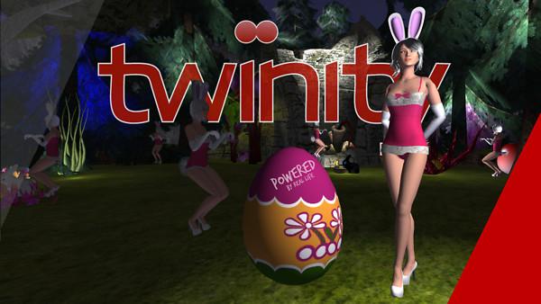 Easter Bunny & Egg - Online Virtual World