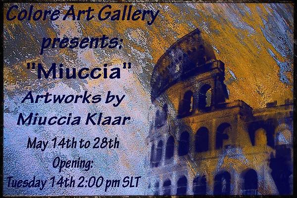 Miuccia Klaar's Exhibition