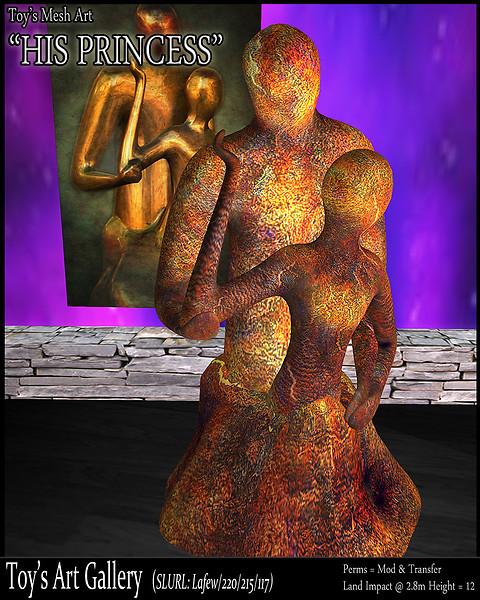 His Princess (SL Sculpture)