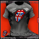 the Rolling Stones T-Shirt Grey - POP Slide