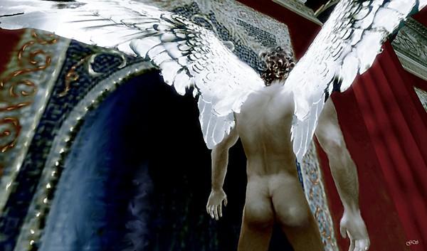 Eros leaving Psyche