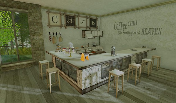 My little cafe - isabelli.anatine