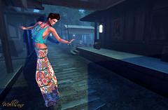 Prism Maggie Jun 9 2013_019 full body dancing pose different color - blue