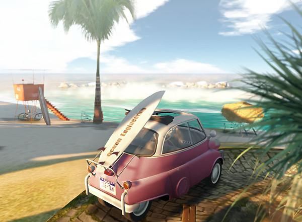 beachside in Kagurazaka sim