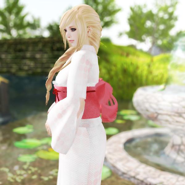 yukata ( kimono for summer )
