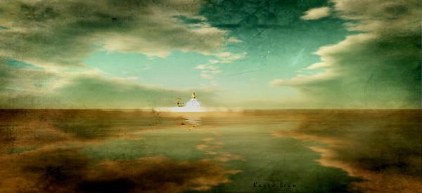 ...dans les nuages...