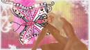 Rain Pink Butterfly 1