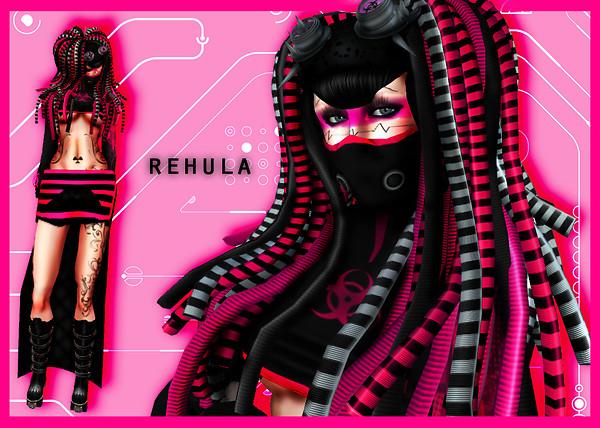 Cybergoth Rehula Pink