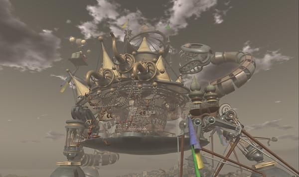 Mechanical Circus by Yooma