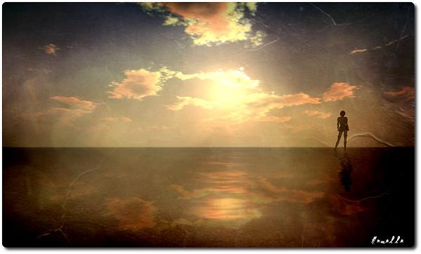 When the heart breaks, soul fades a little more