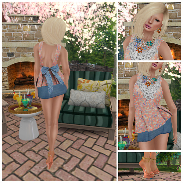 Just Peachy Collage