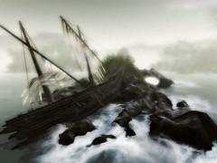 Shipwreck In The Fog