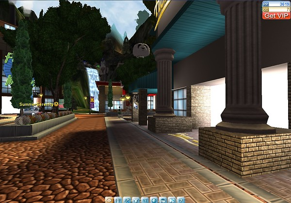 onverse waterfall and places can see.buy items