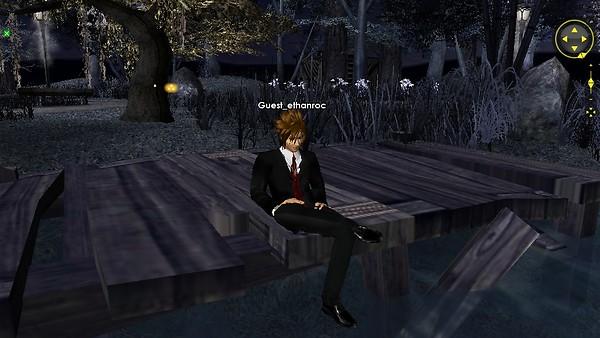 moonlight park 2 looking at stream