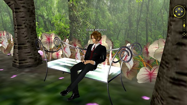 the forest of love seating area