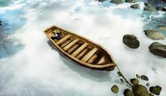Little Bee in a Boat