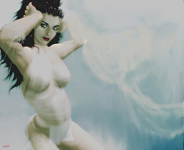 Thetis, the Goddess of the sea