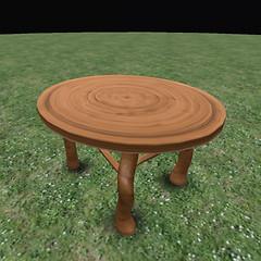 QT Fae Table Blackwood