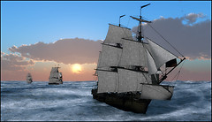 Dawn - Full Sail - High Seas