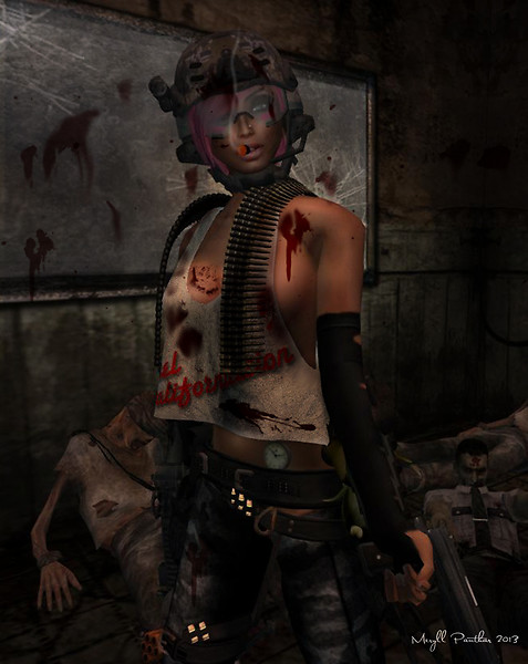 The Most Dangerous Girl in The Apocalypse