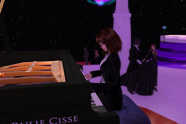 Ballroom dancing with live piano