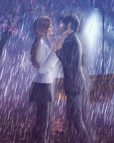 .:°Marie Florence - E il semplice sfiorarsi diviene un amarsi sotto il melodioso cadere della pioggia.°:.