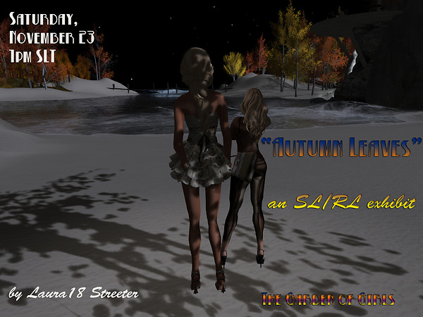 Autumn Leaves exhibit Nov. 23 1pm SLT