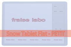 Snow Tablet Flat - PETIT