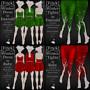 Frick Winter Dress in Emerald & Ruby