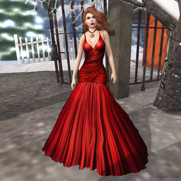 Baiastice - Gemma Dress Red