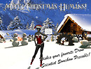 drow science christmas card