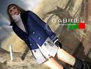 GABRIEL / Bicolor p Coat - Blue