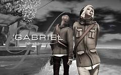 GABRIEL Zip up Tweed Jacket