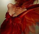 L'Ange rouge au repos